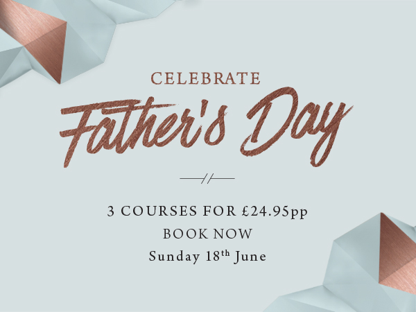 Father's Day at The Freemasons Arms - Book now
