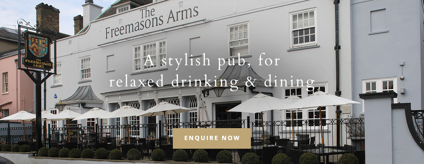 Welcome to The Freemasons Arms